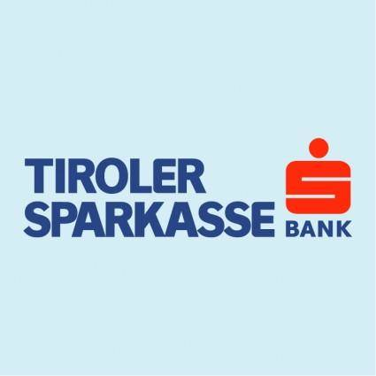 free vector Tiroler sparkasse bank