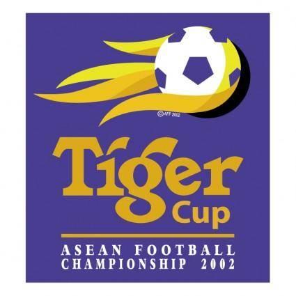 free vector Tiger cup 2002