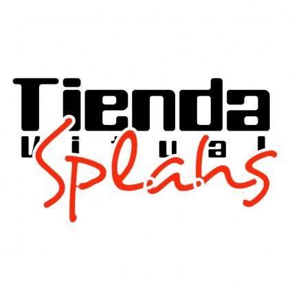 free vector Tienda virtual splash