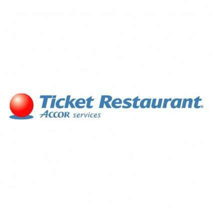 free vector Ticket restaurant 0