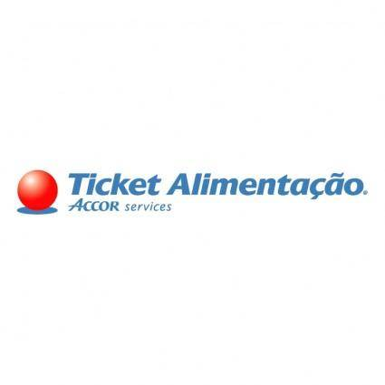 free vector Ticket alimentacao 0