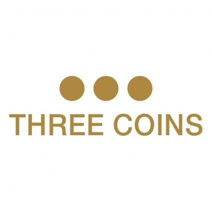 free vector Three coins