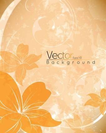 free vector Beautiful posters 02 vector