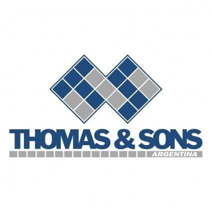 Thomas sons