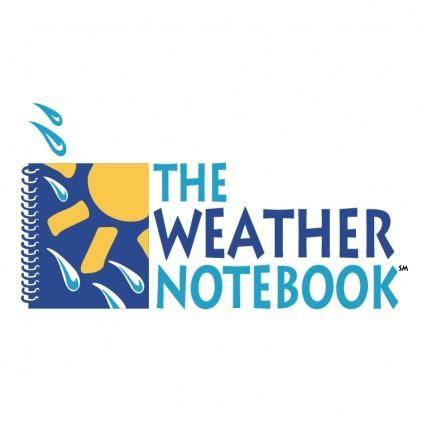 The weather notebook