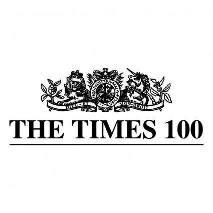 free vector The times 100 0