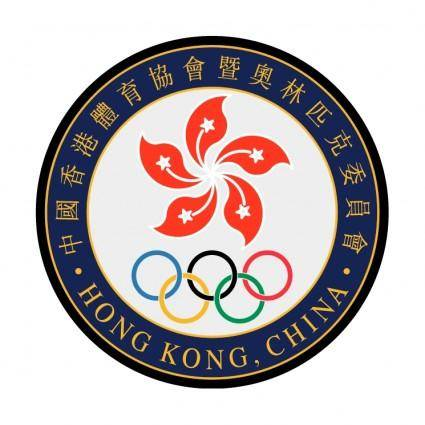 free vector The sports federation and olympic committee of hong kong