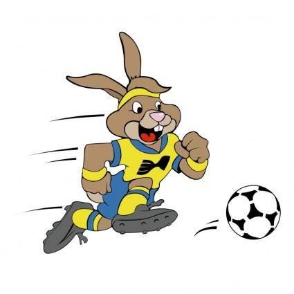 free vector The rabbit