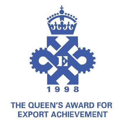 free vector The queens award for export achievement