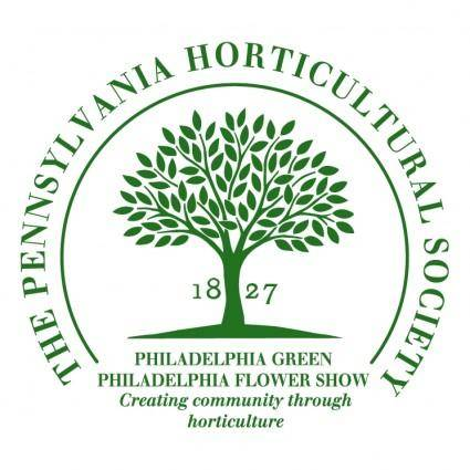free vector The pennsylvania horticultural society