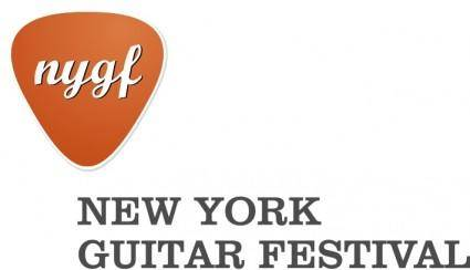 free vector The new york guitar festival