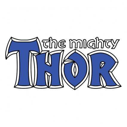 free vector The mighty thor