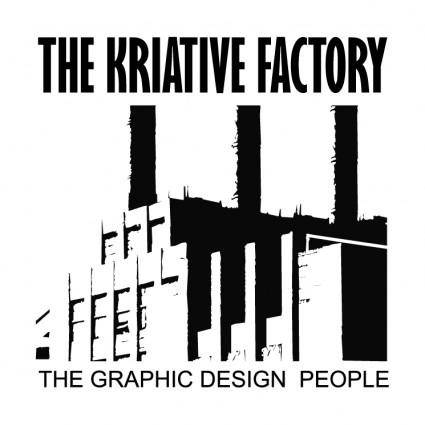 free vector The kriative factory