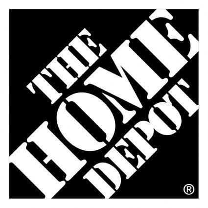 free vector The home depot 0
