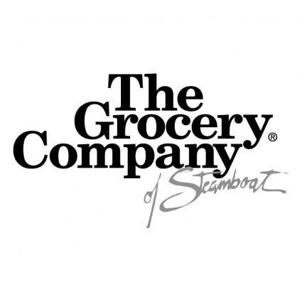 free vector The grocery company of steamboat