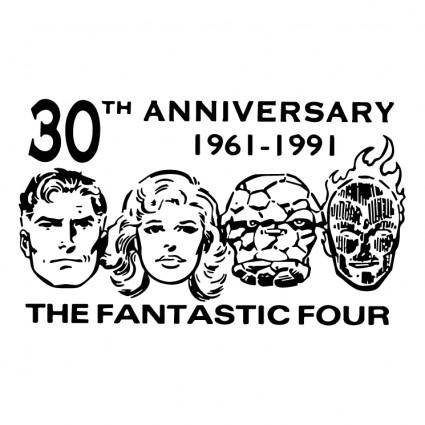 free vector The fantastic four