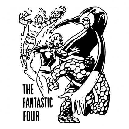 free vector The fantastic four 0