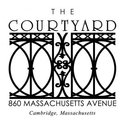 The courtyard 0