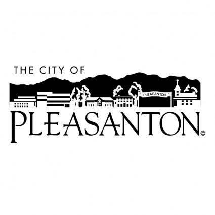 free vector The city of pleasanton