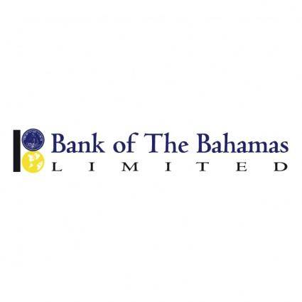 free vector The bank of the bahamas