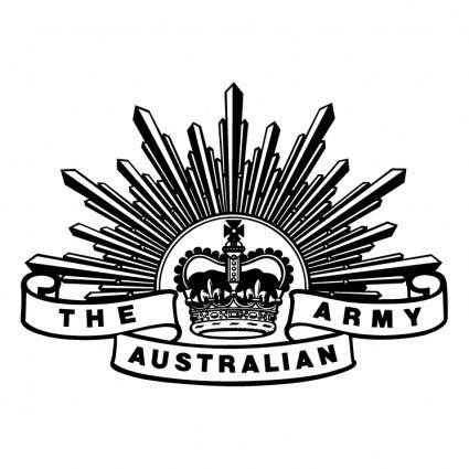 free vector The australian army