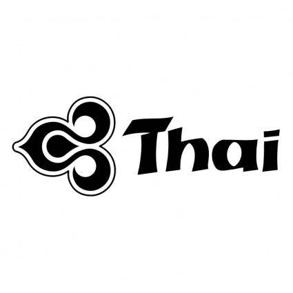 free vector Thai airways 1