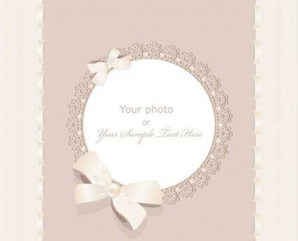 Exquisite gift tag 04 vector