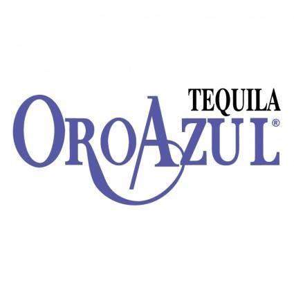 Tequila oro azul