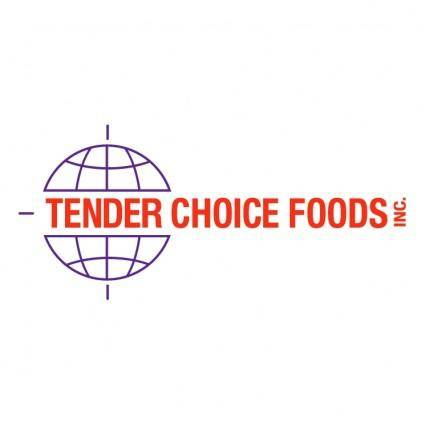 free vector Tender choice foods