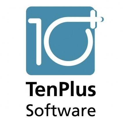 free vector Ten plus software