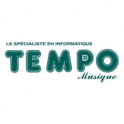 free vector Tempo musique
