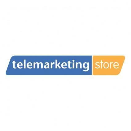 free vector Telemarketing store