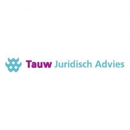 free vector Tauw juridisch advies