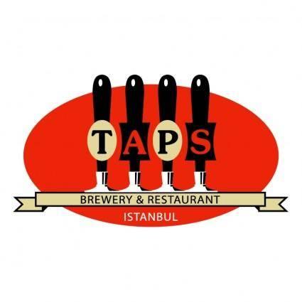 free vector Taps restaurant
