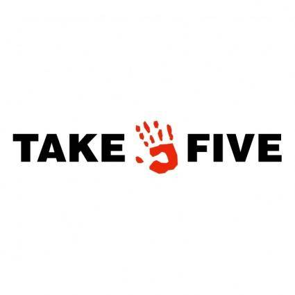 free vector Take five