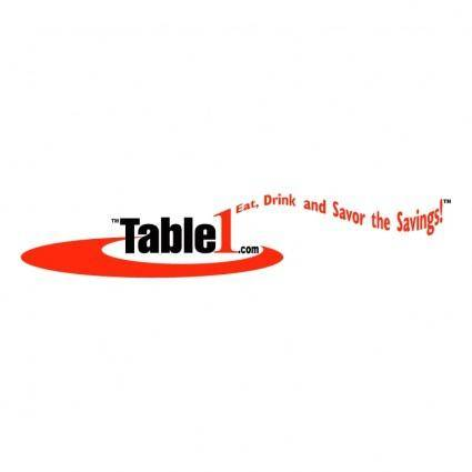 free vector Table1com