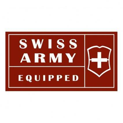 free vector Swiss army equipped
