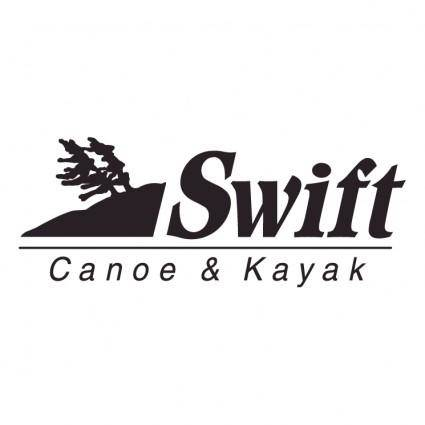 free vector Swift canoe kayak