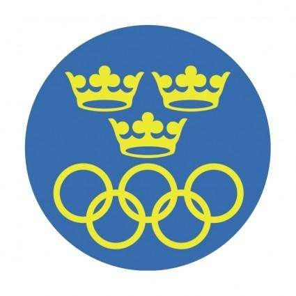 free vector Sveriges olympiska kommitte