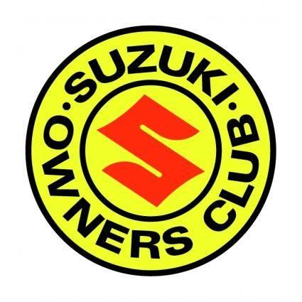 free vector Suzuki owners club