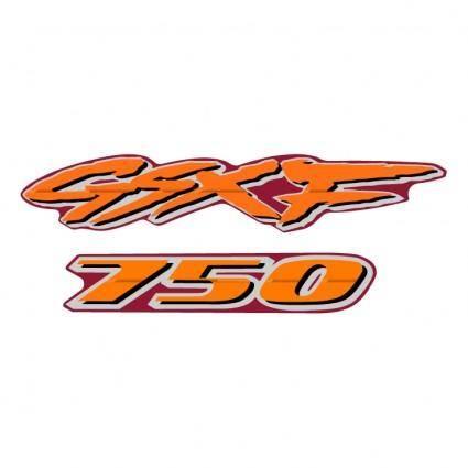 free vector Suzuki gsxf 750