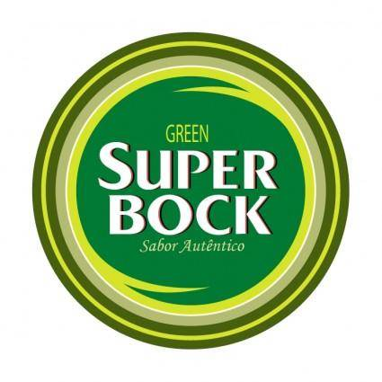 free vector Super bock green