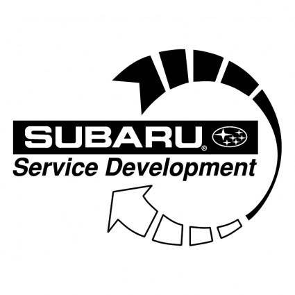 free vector Subaru service development