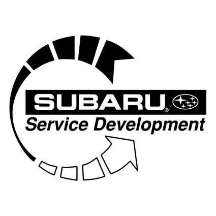 free vector Subaru service development 0