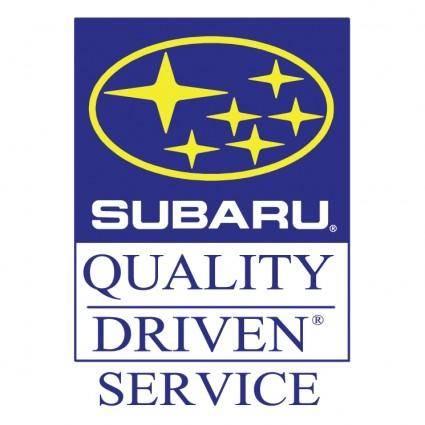free vector Subaru quality driven service 1