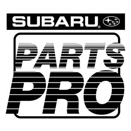 free vector Subaru parts pro