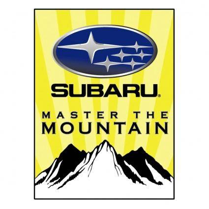 Subaru master the mountain