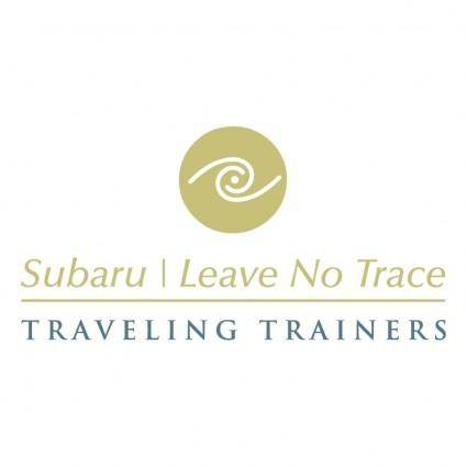 Subaru leave no trace