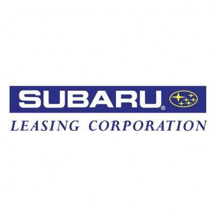 Subaru leasing corporation
