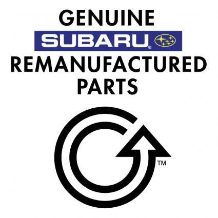 Subaru genuine remanufactured parts 0